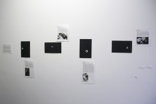Installation of Lost Moon series at the Photo Parlour Gallery in Derby. Copyright Anthony Carr